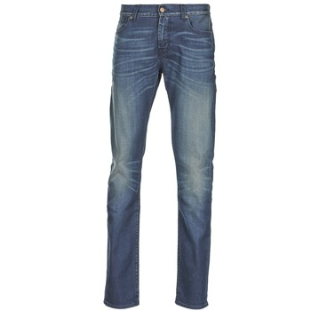 Kleidung Herren Slim Fit Jeans 7 for all Mankind RONNIE ELECTRIC MIND Blau