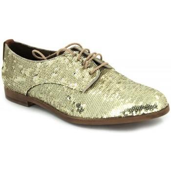 Schuhe Damen Derby-Schuhe Elvio Zanon B-0601-X gold