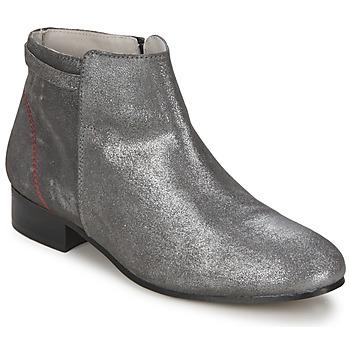 Stiefelletten / Boots Alba Moda  Silbern 350x350