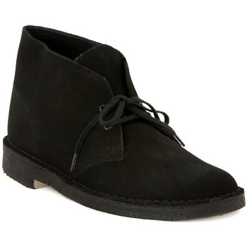 Schuhe Herren Boots Clarks DESERT BOOT BLACK    157,5