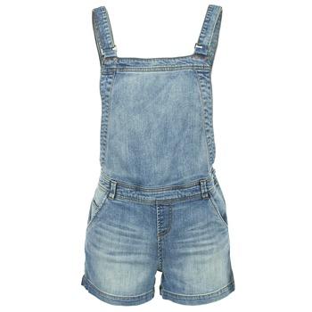 Kleidung Damen Overalls / Latzhosen Naf Naf GUERIC Blau