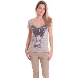 Kleidung Damen T-Shirts Rich & Royal T-shirt 11q442 Beige/Taupe Beige