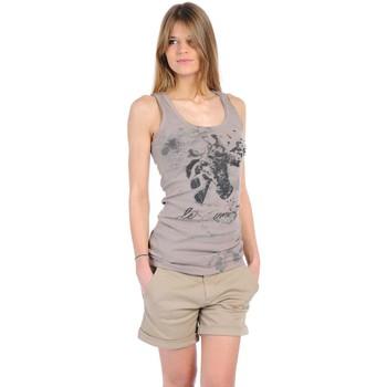 Kleidung Damen Tops Rich & Royal T-shirt 11q436 Beige Beige