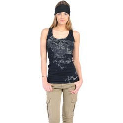 Kleidung Damen Tops Rich & Royal Débardeur 11q435 Noir Schwarz