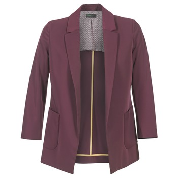 Kleidung Damen Jacken / Blazers Benetton GULO Pflaume
