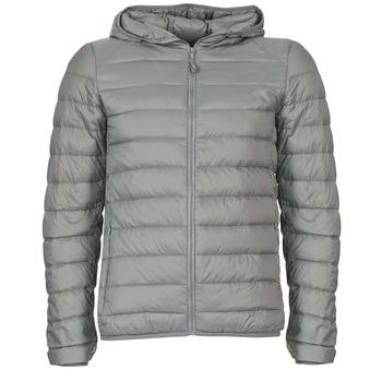 Kleidung Herren Daunenjacken Benetton FOULI Grau