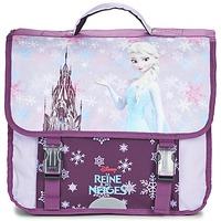 Taschen Mädchen Schultasche Disney REINE DES NEIGES CARTABLE 38CM Malvenfarben