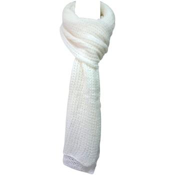 Accessoires Damen Schal De Fil En Aiguille Écharpe Santa Blanc Weiss