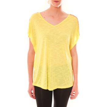 Kleidung Damen T-Shirts Dress Code Top M-9388  Jaune Gelb