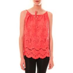 Kleidung Damen Tops Dress Code Debardeur HS-1019  Rose Rose