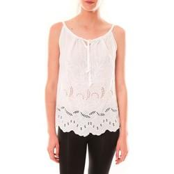 Kleidung Damen Tops Dress Code Debardeur HS-1019  Blanc Weiss