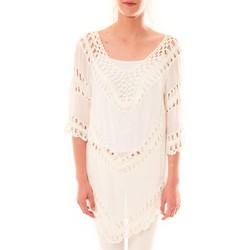 Kleidung Damen Tuniken Dress Code Tunique Bubblee  Blanche Weiss