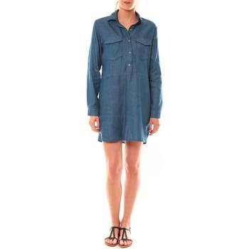 Kleidung Damen Tuniken Dress Code Tunique K836  Denim Blau
