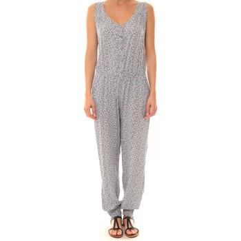 Kleidung Damen Overalls / Latzhosen Dress Code Combinaison Z073  Bleue Blau