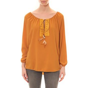Kleidung Damen Tuniken Dress Code Tunique Zinka Moutarde Gelb