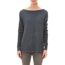 Kleidung Damen Pullover De Fil En Aiguille Pull Zinka Marine Blau