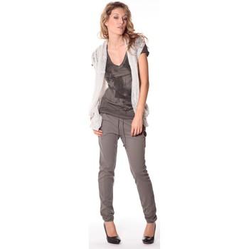 Kleidung Damen Strickjacken Rich & Royal Rich&Royal Gilet mohair ABBA Gris 13q154/114 Grau