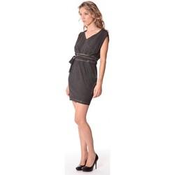 Kleidung Damen Kurze Kleider Rich & Royal Rich&Royal Robe LAST Noire 13q664/890 Schwarz
