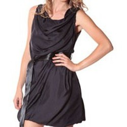 Kleidung Damen Kurze Kleider Rich & Royal Rich&Royal Robe DITA Noire 13q680/890 Schwarz