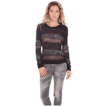 Kleidung Damen Pullover Rich & Royal Rich&Royal LUREX 13Q147 Noir Schwarz