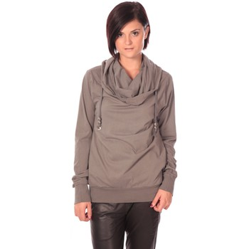 Kleidung Damen Pullover Rich & Royal Rich&Royal Sweat Look Taupe Braun