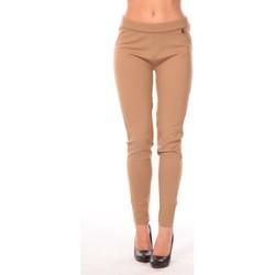 Kleidung Damen Leggings Rich & Royal Rich&Royal Pantalon Leni Beige
