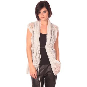 Kleidung Damen Strickjacken Rich & Royal Rich&Royal Gilet Chine Weiss