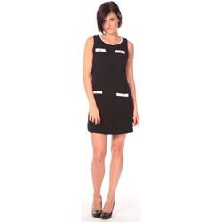 Kleidung Damen Kurze Kleider Aggabarti Robe Lola 112014 Schwarz