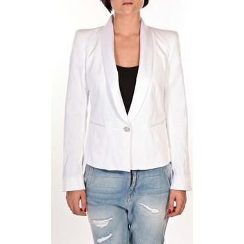 Kleidung Damen Jacken / Blazers Rich & Royal Rich&Royal Blazer 11Q851  Savie Weiss