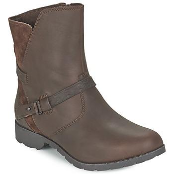 Schuhe Damen Boots Teva DELAVINA LOW Braun