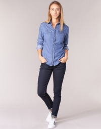 Kleidung Damen Slim Fit Jeans Yurban ESQUINE Blau
