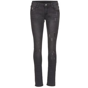 Kleidung Damen Slim Fit Jeans Yurban EVIGUILE Schwarz
