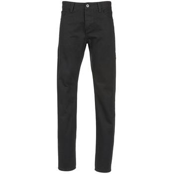 Kleidung Herren Straight Leg Jeans Yurban EDABALO Schwarz