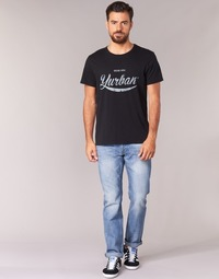 Kleidung Herren Straight Leg Jeans Yurban IEDABALO Blau