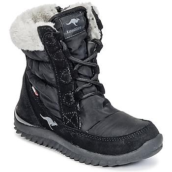 Schuhe Mädchen Schneestiefel Kangaroos CUPY JUNIOR Schwarz