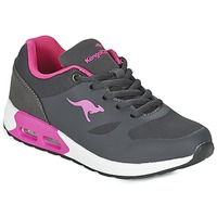 Schuhe Mädchen Sneaker Low Kangaroos KANGA X Grau / Rose