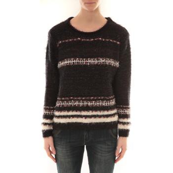 Kleidung Damen Pullover Barcelona Moda Pull FT03 Schwarz