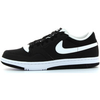 Schuhe Herren Sneaker Low Nike Court force low Schwarz
