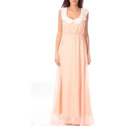 Kleidung Damen Maxikleider Aggabarti Robe Claudine 121013 Orange