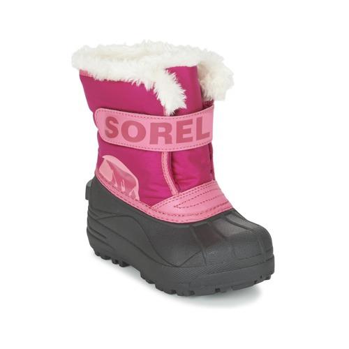 Sorel childrens snow commander rose kostenloser versand for Commander rose