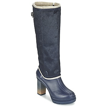 Schuhe Damen Klassische Stiefel Sorel MEDINA IV PREMIUM COLLEGIATE / Navy / Schwarz