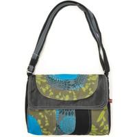 Taschen Damen Umhängetaschen Bamboo's Fashion Petit Sac Besace Libreville GN-155 vert Grün