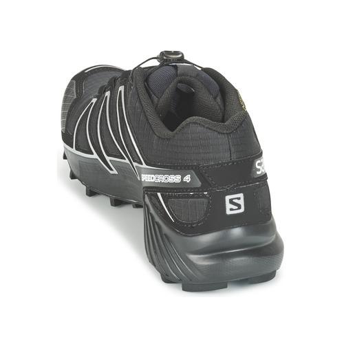 Salomon SPEEDCROSS 4 GTX® Schwarz / Herren Silbern  Schuhe Laufschuhe Herren / 159 39f698