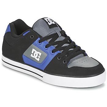 Schuhe Herren Skaterschuhe DC Shoes PURE Schwarz / Blau / Grau