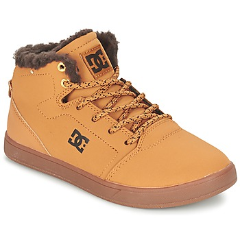 Schuhe Kinder Sneaker High DC Shoes CRISIS HIGH WNT B SHOE WD4 Rot multi wf sde / Schokolade