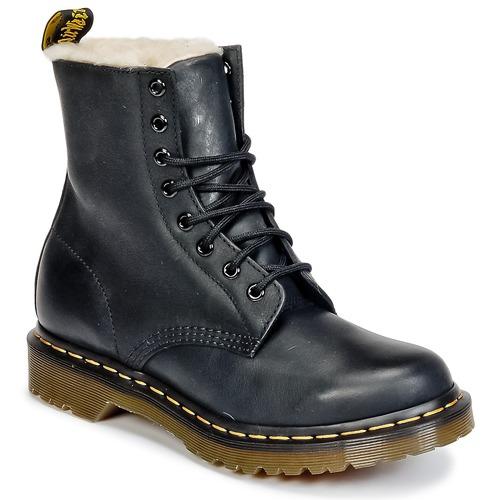 Schuhe Damen Boots Dr Martens SERENA Schwarz