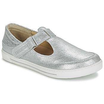 Schuhe Kinder Sandalen / Sandaletten Birkenstock ABILENE Silbern