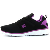 Schuhe Mädchen Sneaker Low DC Shoes Heathrow Violett