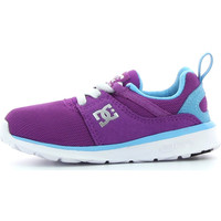 Schuhe Jungen Sneaker Low DC Shoes Heathrow Violett