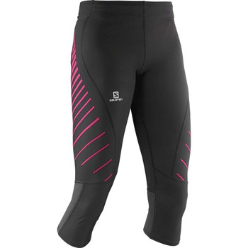 Kleidung Damen Hosen Salomon Endurance 3/4 Tight W schwarz